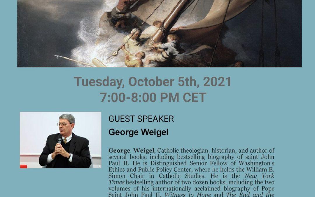 Zapraszamy na wykład online: Kryzys w Katolickim Kościele oraz kulturze. Znaki nadziei